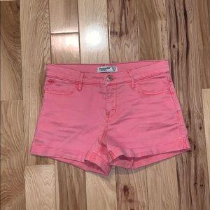 Pink Abercrombie Girls Shorts 13/14